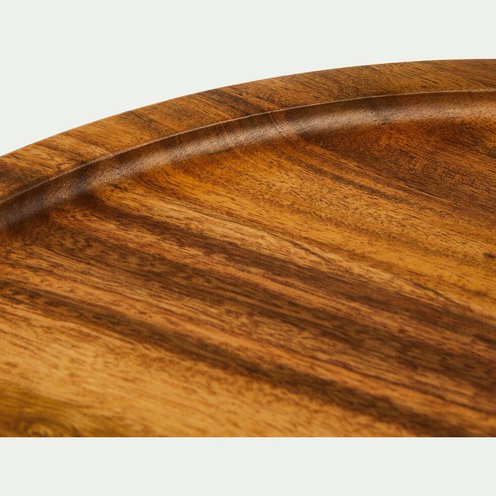 Planche à découper ronde en acacia-CEOU
