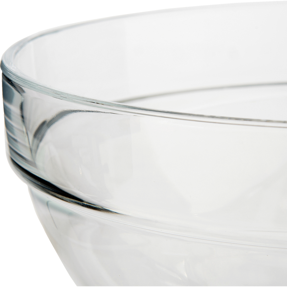 Saladier en verre transparent D29cm-VELLY