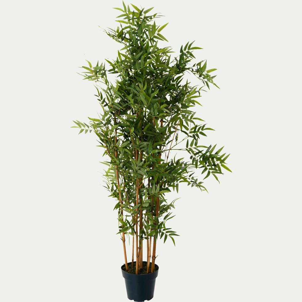 Plante artificielle bambou - vert H120cm-Bambou