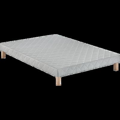 Sommier tapissier Alinéa 14 cm - 160x200 cm-LUMINO