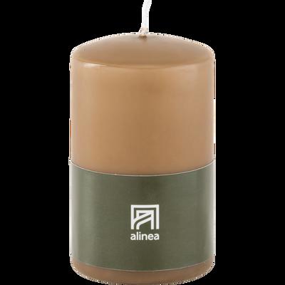Bougie cylindre brun albe-HALBA