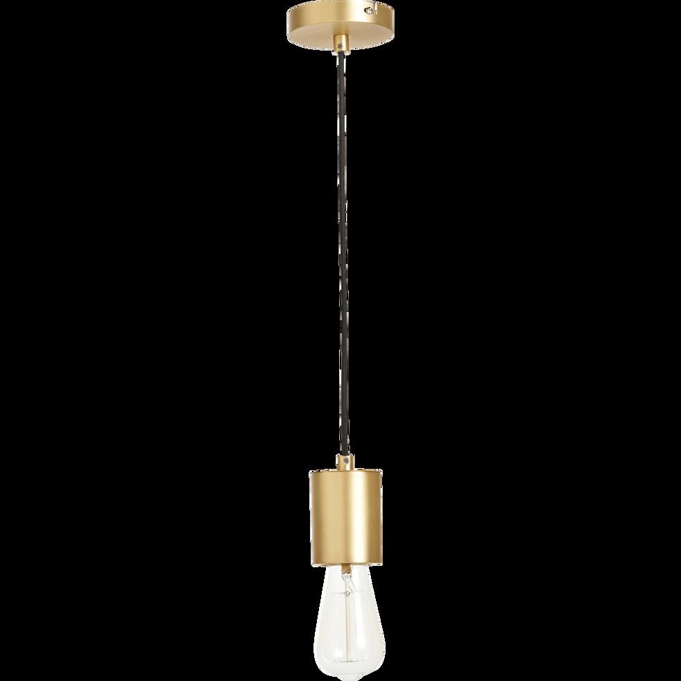 Suspension en métal doré H8,5xD6,5cm-PRAO
