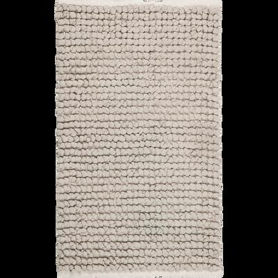 Tapis de bain en coton Gris borie 80 x 50 cm-JAN