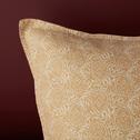 Lot de 2 taies d'oreiller en lin motifs Amandes - 50x70 cm-GOYA