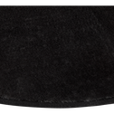 Tapis  imitation fourrure gris foncé d150cm-RUBICO