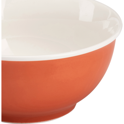Bol en porcelaine rouge D14,4cm-CAFI