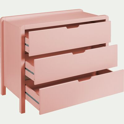 Commode 3 tiroirs - rose-JAUME