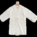 Peignoir en coton Blanc Ventoux - Plusieurs tailles-CLEMATIS