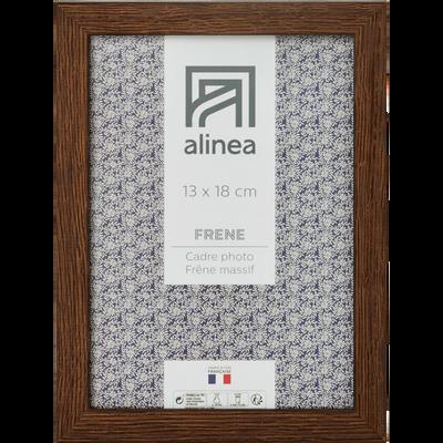 Cadre photo en bois L13xH18cm-FRENE