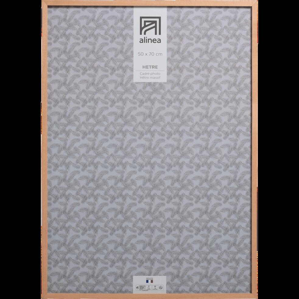 cadre photo en bois plusieurs tailles hetre alinea. Black Bedroom Furniture Sets. Home Design Ideas