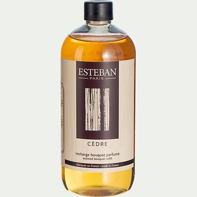 Recharge pour bouquet parfumé Cèdre - 500ml-ESTEBAN