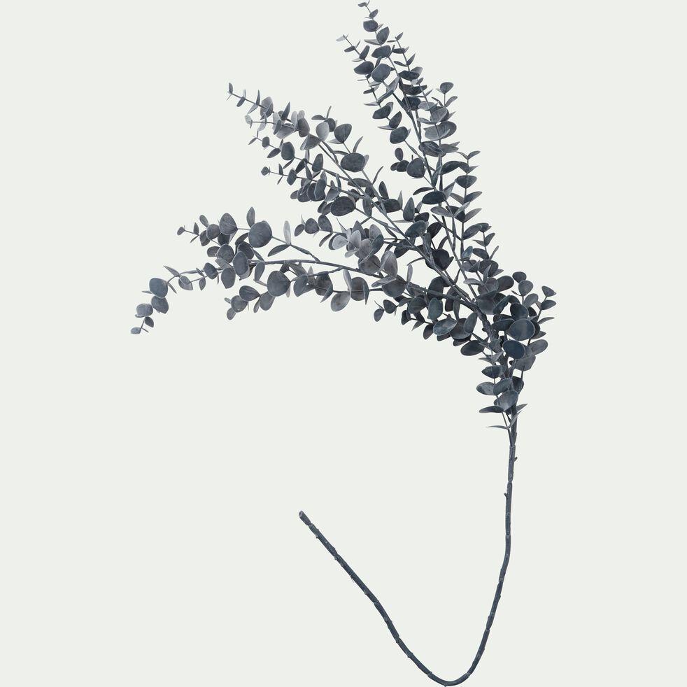 Branchage artificiel eucalyptus bleu foncé L85cm-GIAO