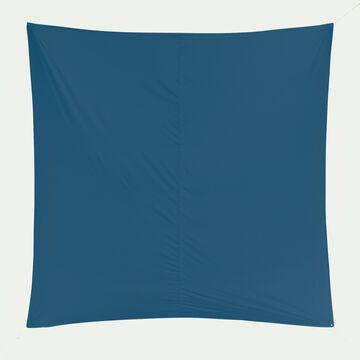Voile d'ombrage carré 3,6m - bleu céou-ROSA