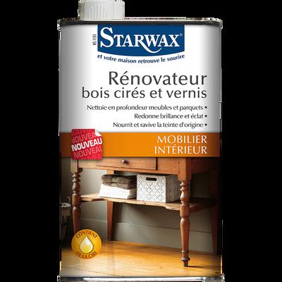 Rénovateur pour bois cirés et vernis 500ml-Starwax