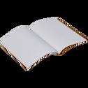 Carnet format A6 motif amande-AMANDE