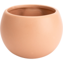 Cache-pot en céramique - rose sable - H10xD6cm-mai