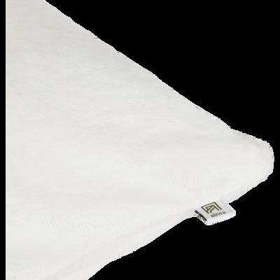 Housse de coussin effet doux blanc ventoux 65x65cm-ROBIN