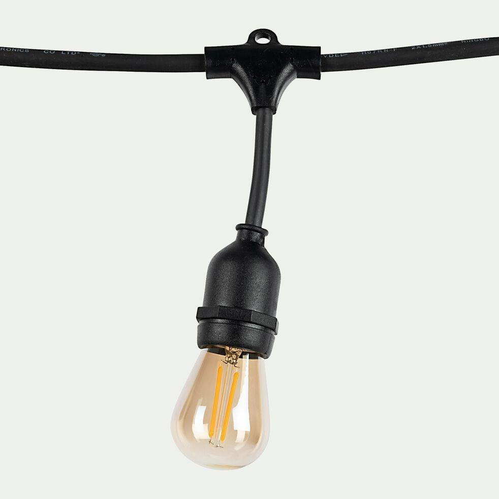Guirlande électrique d'extérieur - noir 10m-MAFY 20