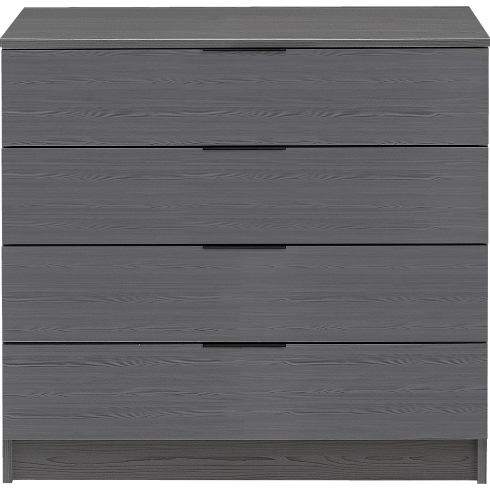Commode 4 Tiroirs Gris Anthracite Brooklyn Catalogue Storefront