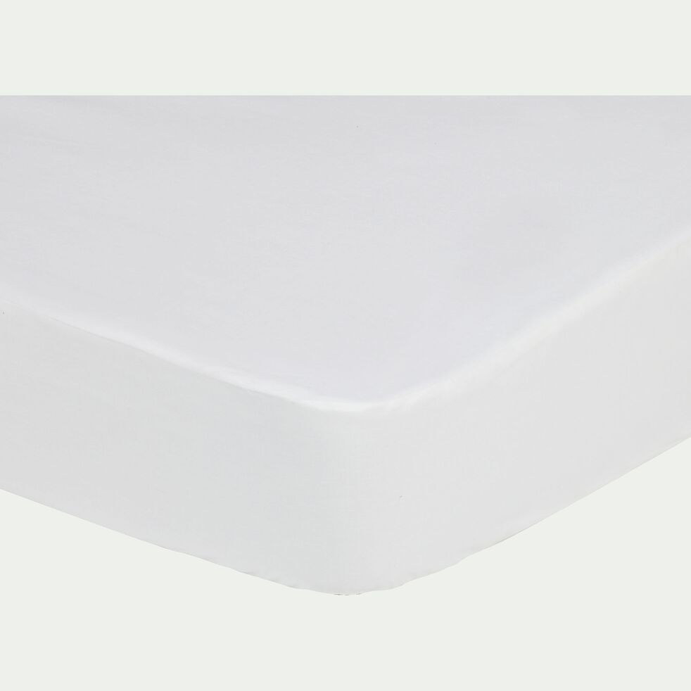 Protège-matelas imperméable en coton 160x200cm bonnet 25cm-Dry