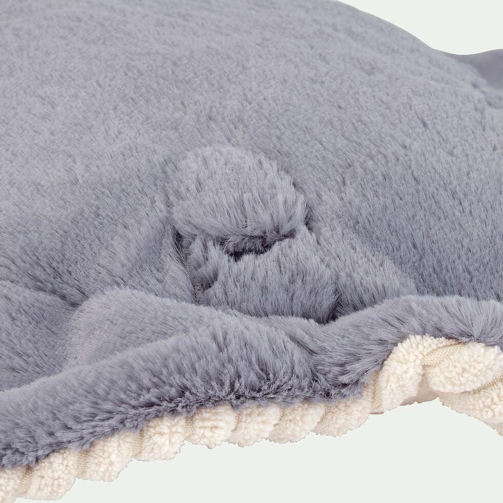 Peluche raie - gris h54cm-Stan