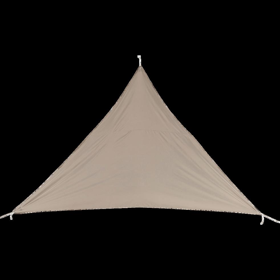 Voile d'ombrage triangle 3,6m - beige alpilles-Rosa