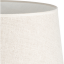 Abat-jour en lin coloris naturel D45cm-MOKUZAI
