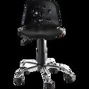 Chaise de bureau enfant Noir-LYLY