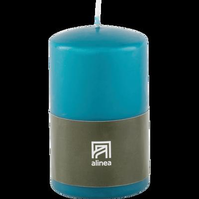 Bougie cylindrique bleu niolon-HALBA