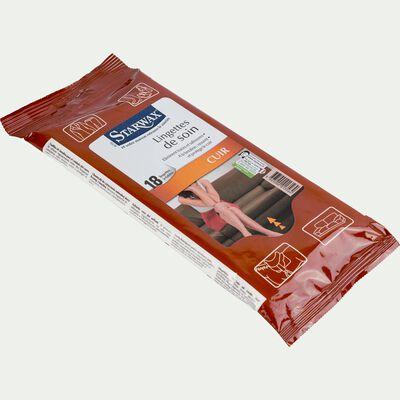 Sachet de 18 lingettes de soin pour cuir-STARWAX