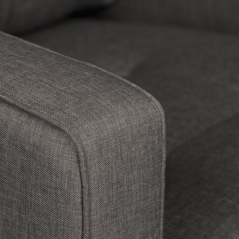 Fauteuil en tissu - gris restanque-ROMEO