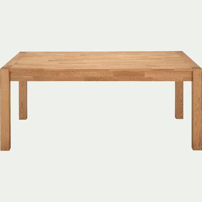 Table de repas extensible en chêne - 6 à 10 places-ANKARA