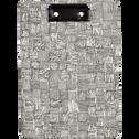 Porte-bloc motif canisse 22,5x16cm-SIMY
