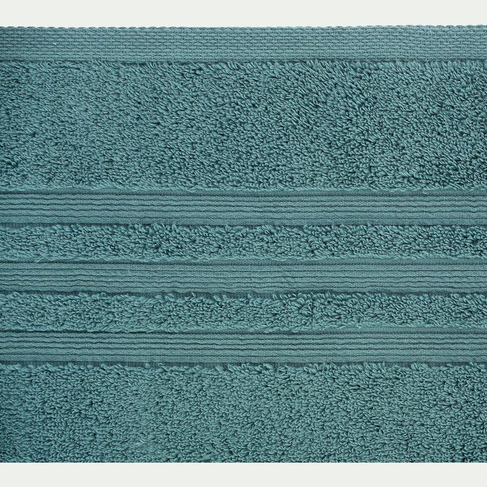 Drap de douche bouclette en coton - vert 70x140cm-Noun