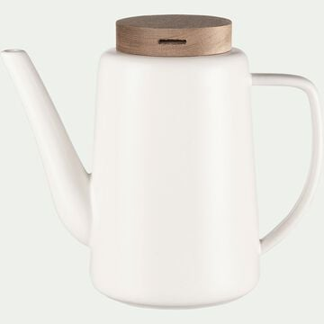 Théière en porcelaine blanche 1,2L-YUNNAN