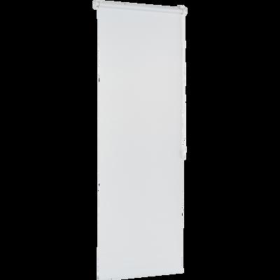 Store enrouleur tamisant blanc 72x190cm-JOUR-NUIT