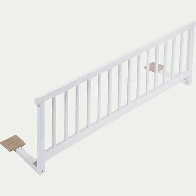 Barrière de lit universelle en hêtre massif - blanc-Titou