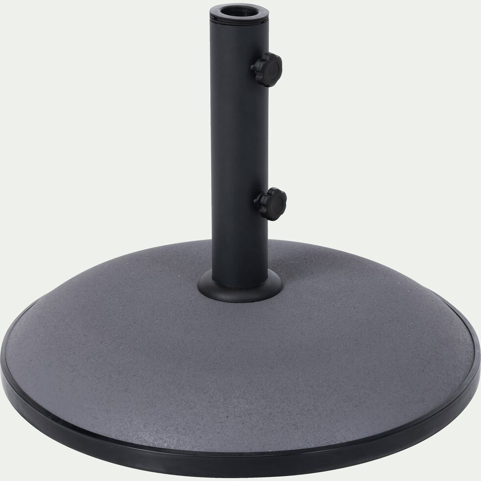 Pied de parasol en ciment 30kg gris restanque-CASERTA