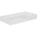Tiroir de rangement lit bébé cerisier blanchi - 60x120 cm-BROOKLYN