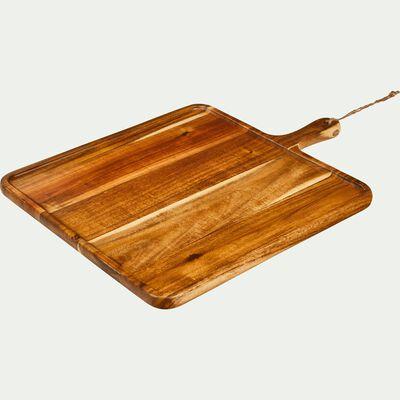 Planche à découper carrée en acacia-CEOU