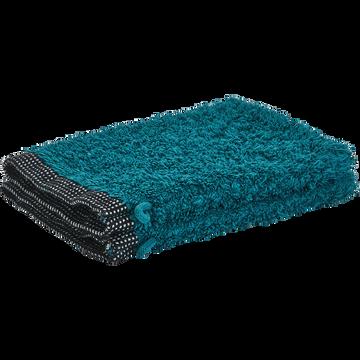 Gant coton et lin 16X21cm bleu niolon-ADONI