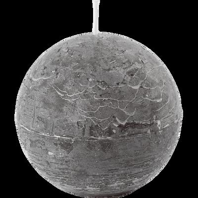 Bougie ronde vert cèdre D10cm-BEJAIA