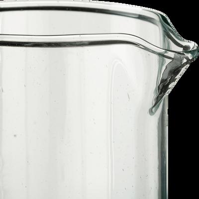 Carafe en verre recyclé transparent 1,5L-BALEM