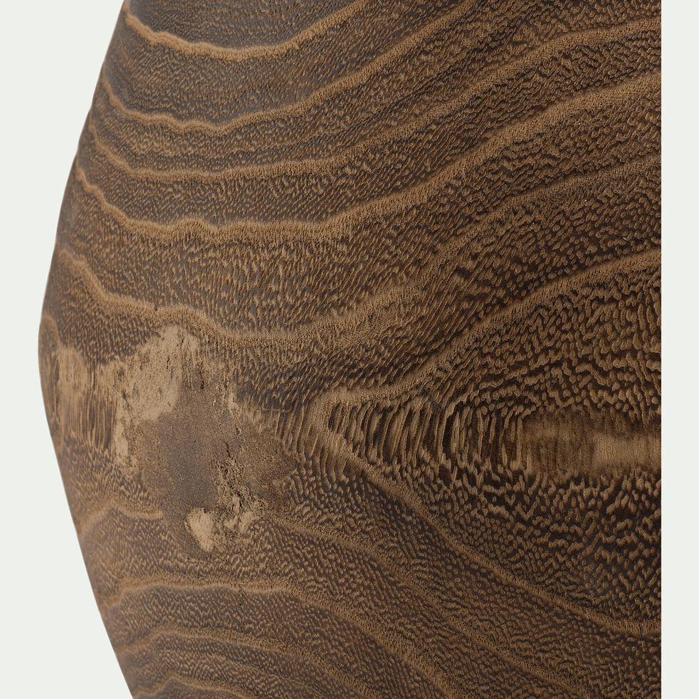 Cache-pot en bois de paulownia D31xH32cm-MAXIM