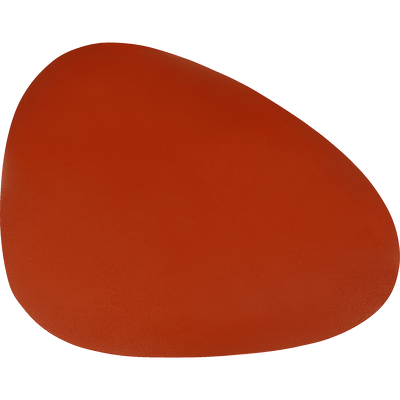 Set de table en caoutchouc rouge 30,5x39cm-ALMA