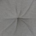Galette de chaise ronde gris restanque D40cm-CALANQUES