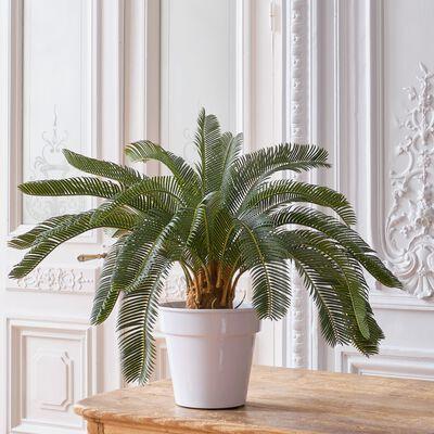 Plante artificielle cycas du Japon en pot - vert H72cm-CYCAS