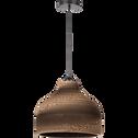 Suspension en carton H28,5xD35cm-CLIDE