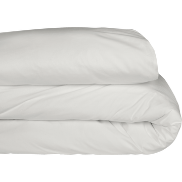 Housse de couette en coton blanc capelan 260x240cm-CALANQUES
