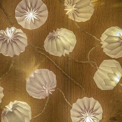 Guirlande lumineuse leds origami l175cm-Noe